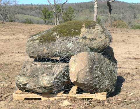 Medium Moss Boulders 4