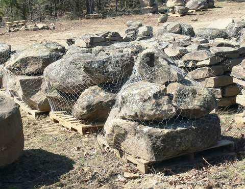 Medium Moss Boulders 6