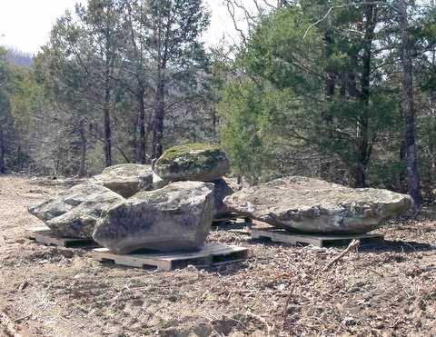 Moss boulder 5