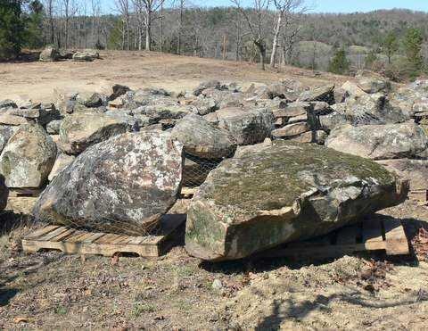 Moss boulder 6
