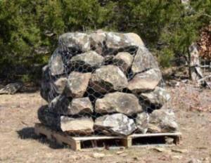 Large mini boulders
